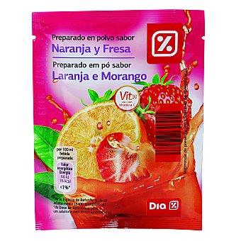 DIA Refresco en polvo sabor naranja y fresa Sobre 40 gr