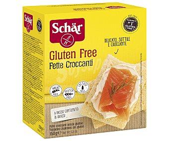Schär Biscotes crujientes sin gluten y sin lactosa envase 150 g Envase 150 g