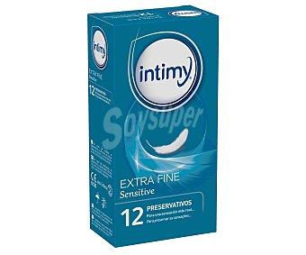 Intimy Preservativo extra fino para una sensación más real 12 unidades