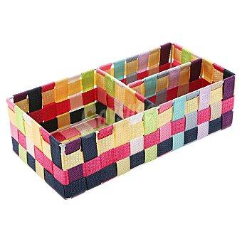QUO Caja con 3 compartimentos Dec