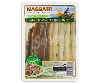 Nassari Anchoas y Boquerones sin Gluten en Aceite de Girasol 55 Gramos