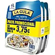 La Gula del Norte ultracongelada Pack 3 bandejas x 200 g Angulas Aguinaga