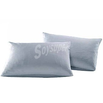 Hipercor Funda de almohada blanca 150 cm 1 unidad