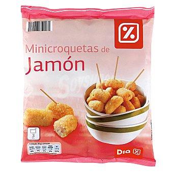 DIA Mini croquetas de jamón Bolsa 500 gr
