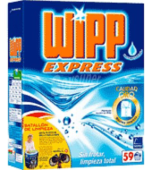 Wipp Express Detergente en polvo Wipp Express Maleta de 59 cacitos
