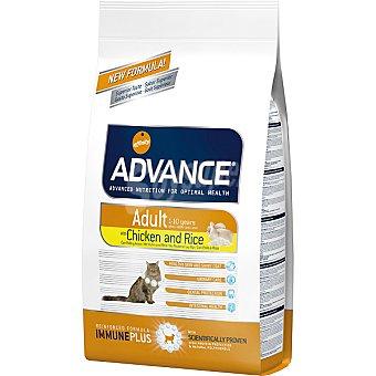 Advance Affinity Alimento de alta gama para gatos adultos de 1 a 10 años rico en pollo y arroz Adult Bolsa 3 kg