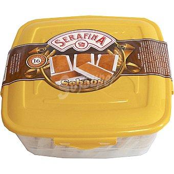 Serafina Sobaos caja 300 g 16 unidades