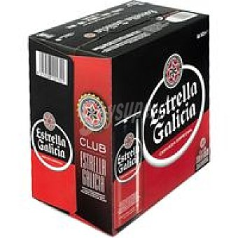 ESTRELLA GALICIA Cerveza especial Pack 16x33cl