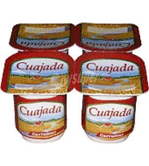 Carrefour Cuajada Pack de 4x125 g