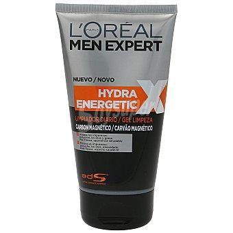 L'Oréal Men Expert Hydra Energetic limpiador diario carbón mágnetico Tubo 150 ml