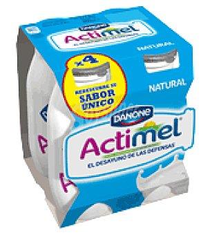Danone Actimel Yogur líquido natural Danone Pack de 4x100 g