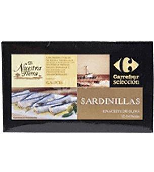 Carrefour Selección Sardinillas en aceite de oliva 115 g