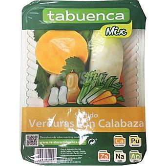 Tabuenca Surtido de verduras con calabaza Bandeja 1 kg