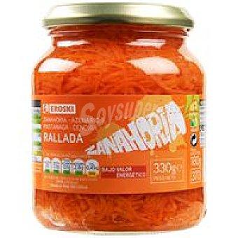 Eroski Zanahoria en tiras Frasco 180 g