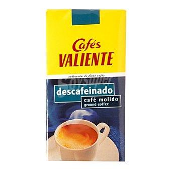 CAFÉS VALIENTE Café Descafeinado Molido 250 g