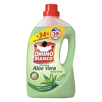 Omino Bianco Detergente líquido con extractos de aloe vera 50 lavados 50 lavados