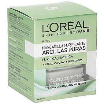 L'Oréal Mascarilla de arcilla purificante y matificante Frasco 50 ml