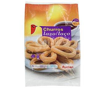 Auchan Churros con forma de lazo, precocinados y ultracongelados 500 g