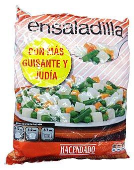 Hacendado Ensaladilla rusa congelada (con más guisante y judía) Paquete 1 kg
