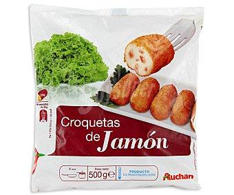 Auchan Croquetas de jamón 500 gramos