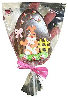D.VENEZIANE Chocolatina forma de piruleta decorada con motivos de pascua 1 unidad de 60 g