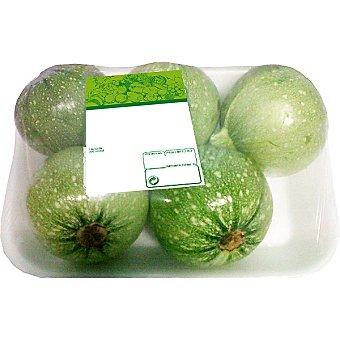Calabacín redondo/bubango peso aproximado Bandeja 1,2 kg