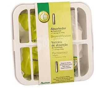 Productos Económicos Alcampo Sistema absorbedor de humedad + recarga neutra de 450 gramos 1 unidad