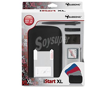 SUBSONIC Pack de accesorios Istart para Nintendo 3Ds XL 1 Unidad