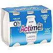 Yogur líquido 0% MG Pack 6 x 100 g Actimel Danone