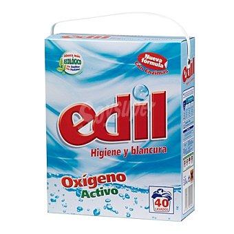 Edil Detergente en polvo oxígeno activo 40 lavados