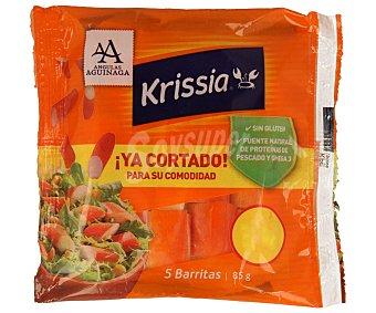 Krissia Palitos de surimi ya cortados Bolsa de 85 g