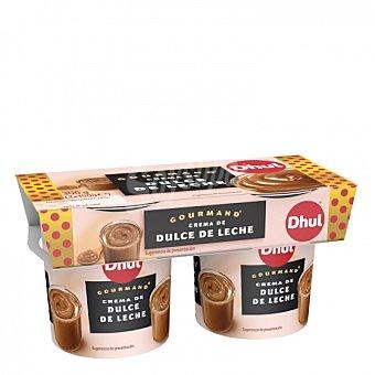 Dhul Crema de dulce de leche Dhul Gourmand Pack de 2 unidades de 150 g