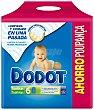 Toallitas infantiles Pack 6 envases 72 unidades Dodot