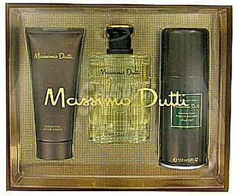 Massimo Dutti Estuche Colonia hombre+after Shave +desodorante 1u