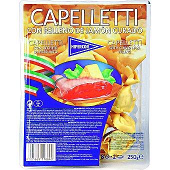 HIPERCOR cappelletti frescos con relleno de jamón curado envase 250 g