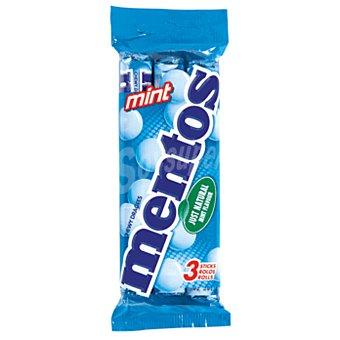 Mentos Caramelos de menta Pack 3x38 g