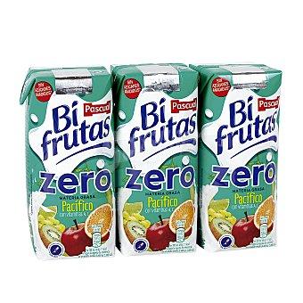 Bifrutas Pascual Zumo de frutas con leche y vitaminas Pacífico 3x330ml