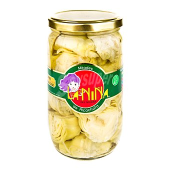 La Niña Mitades de alcachofa Tarro de 450 g
