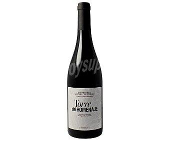 TORRE DEL HOMENAJE Vino tinto roble con denominación de origen Navarra Botella de 75 centilitros