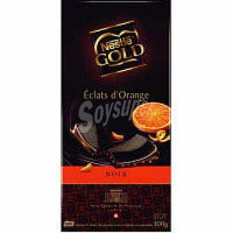 Gold Nestlé Chocolate Dark Orange Tableta 100 g