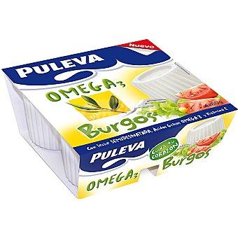 Puleva Queso de Burgos Omega3 Pack 4x60 g