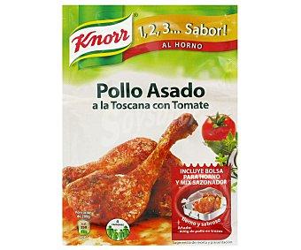 Knorr Sazonador Pollo Asado a la Toscana 1,2,3.. Sabor! 30 Gramos
