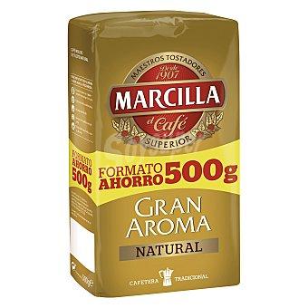 MARCILLA Gran Aroma café natural molido  paquete 500 g