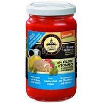 TERRE SGIORG Salsa de atún-aceituna Tarro 200 g