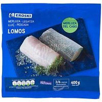 Eroski Lomos de merluza Bolsa 400g