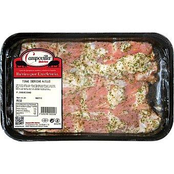 Campovilla Tira de cerdo ibérico al ajillo Bandeja 300 g
