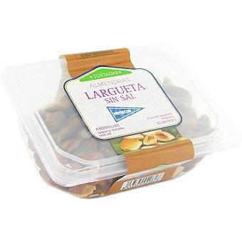 Hipercor Almendras largueta tostadas sin sal Tarrina 225 g