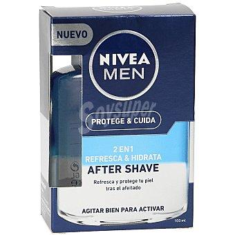 Nivea Men loción after shave 2 en 1 protege&cuida Bote 100 ml