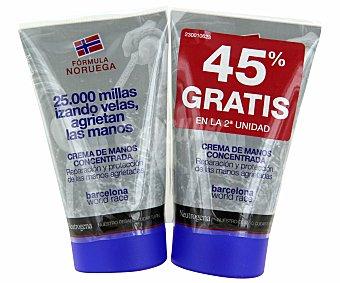 NEUTRÓGENA Crema de manos duplo 2 envases de 50 mililitros