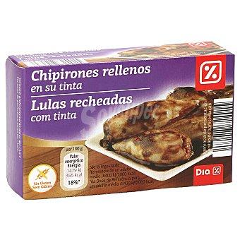 DIA Chipirones rellenos en su tinta Lata 72 gr